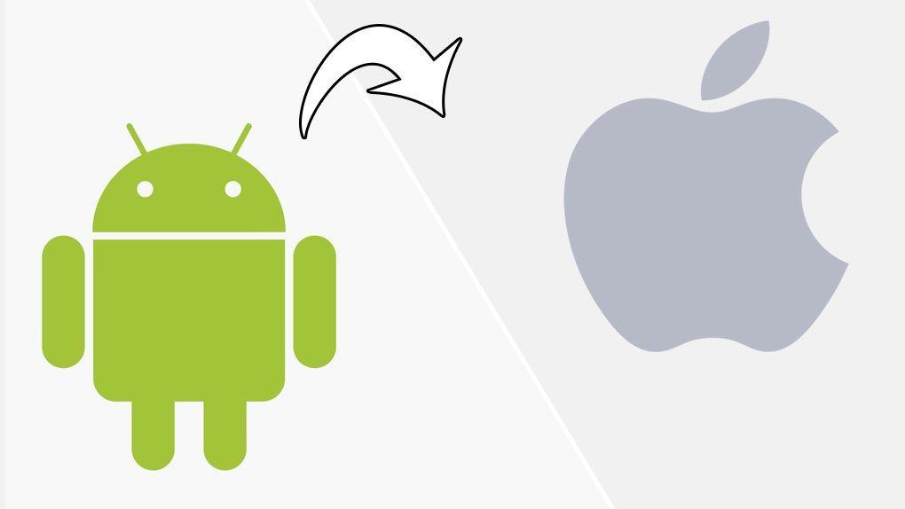 Så byter du från Android till Iphone