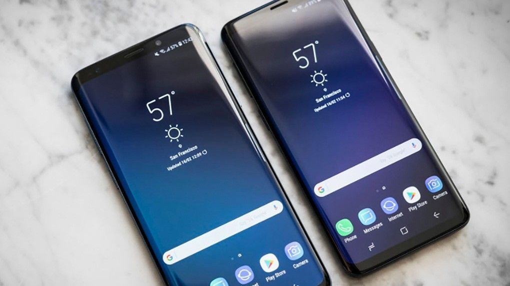 test samsung galaxy s9 och s9 plus s bra r nya. Black Bedroom Furniture Sets. Home Design Ideas