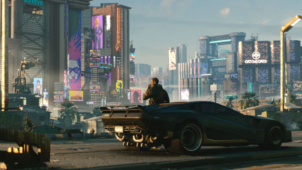 Tung skalp för Geforce Now: Landar Cyberpunk 2077