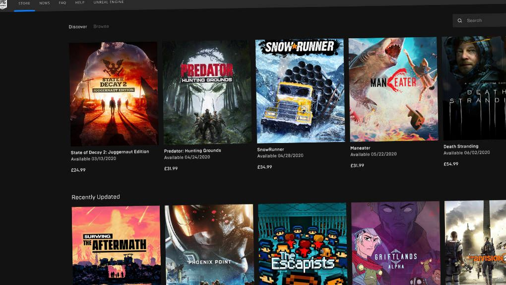 Efter avhoppen: Epic games ger helhjärtat stöd till Geforce Now
