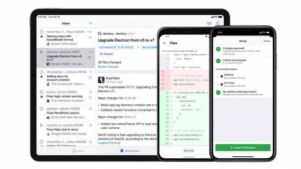 Github lanserar app för Android och IOS