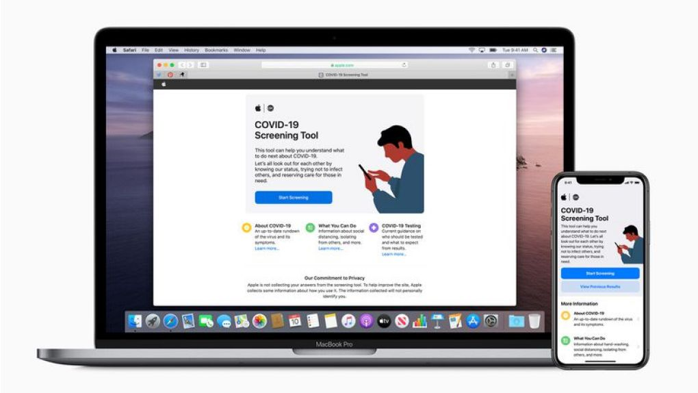 Apple släpper app med information om coronaviruset