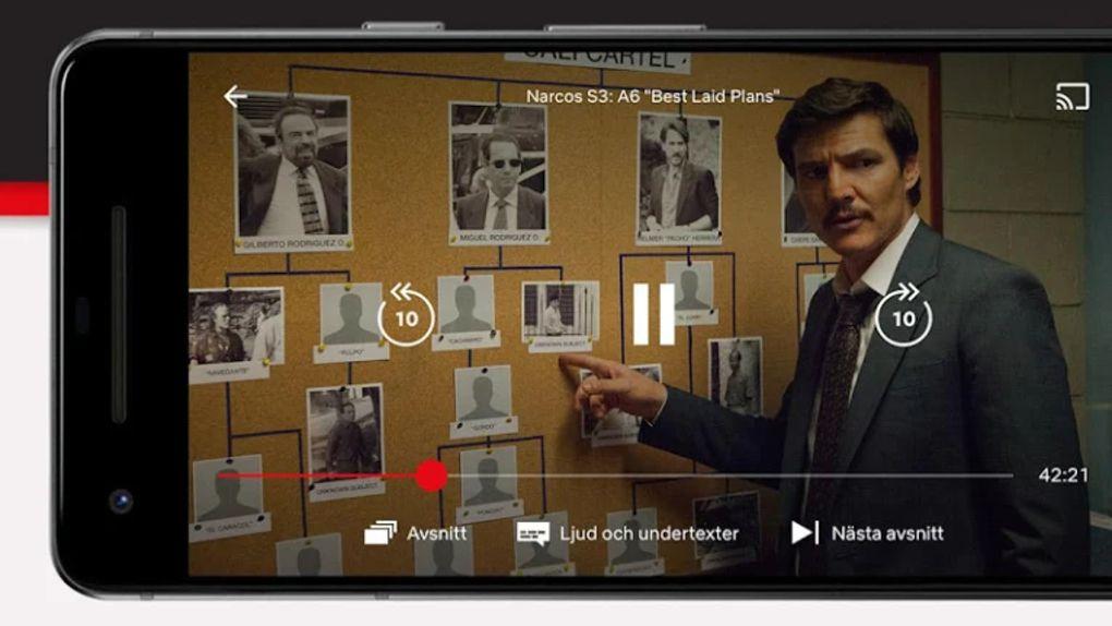 Netflix till Android får skärmlås-funktion