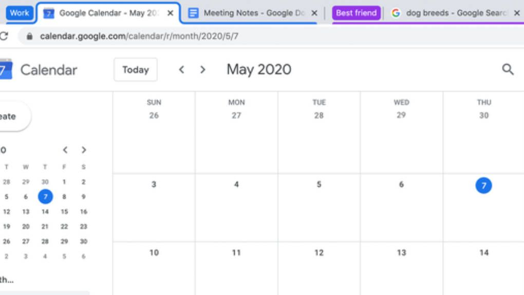 Snart kan du gruppera flikar i Google Chrome