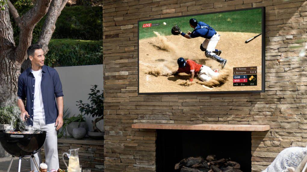 Samsung lanserar vädertålig tv för uteplatsen
