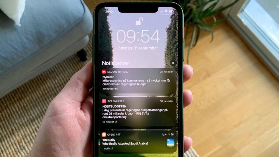 4 av 5 Iphone-enheter kör IOS 13, uppger Apple