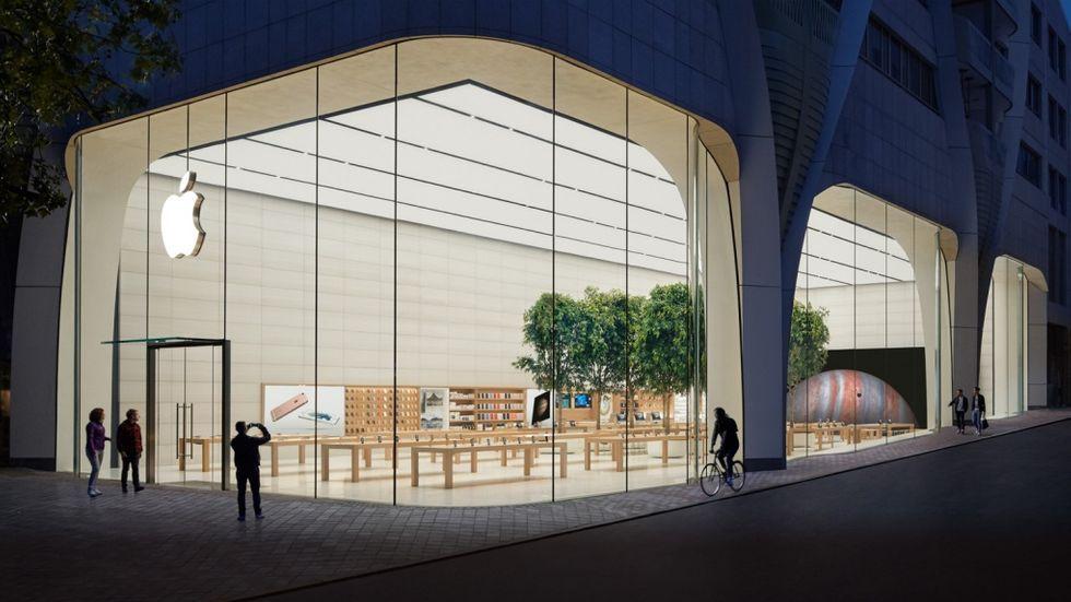 Apple stänger vissa butiker igen efter nya sjukdomsutbrott