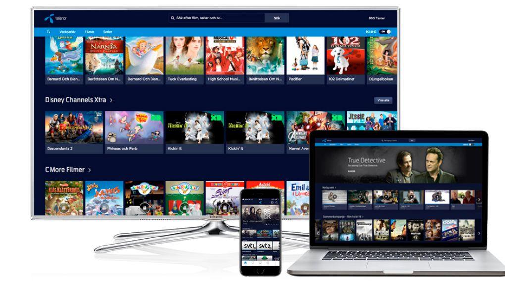 Telenor släpper billigt kanalpaket utan tv-box