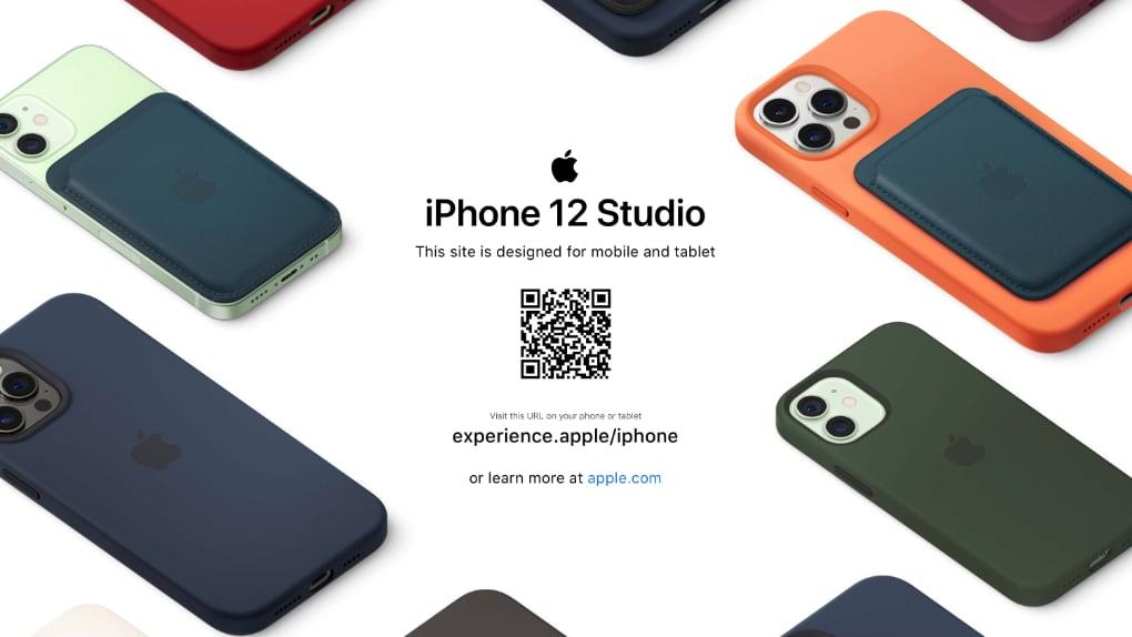 """Apple öppnar """"Iphone 12 Studio"""" för att prova skal i förväg"""