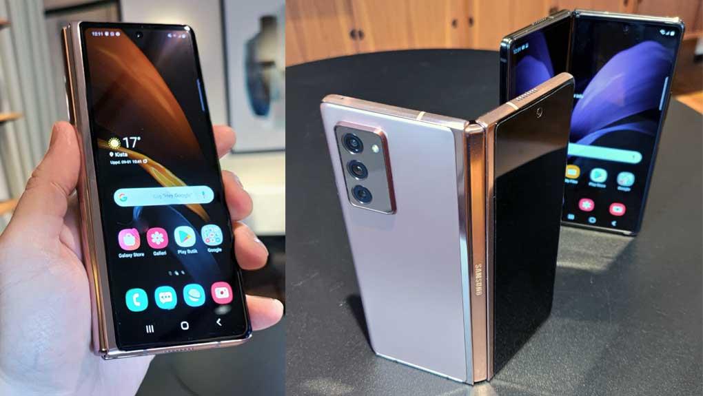 Uppgifter: Nästa Galaxy Z Fold kan få frontkamera under skärmen