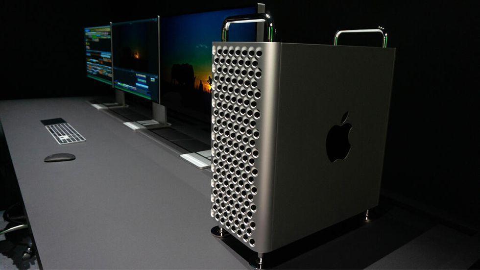 Tim Cook gav Donald Trump en Mac Pro