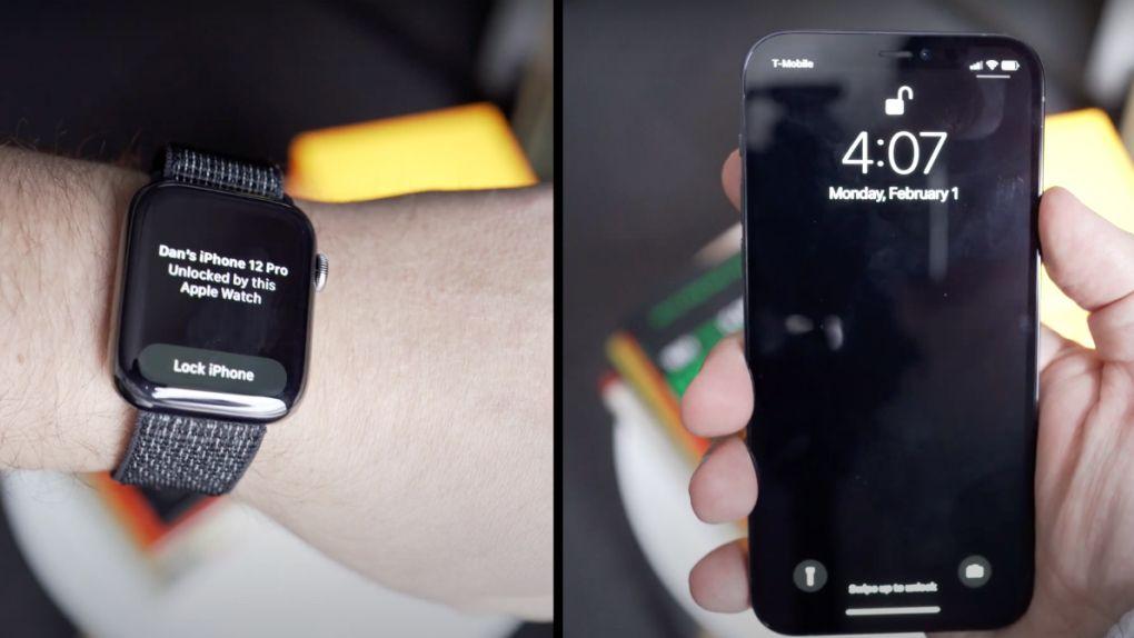 Apple Watch kan lösa Face ID:s problem med munskydd