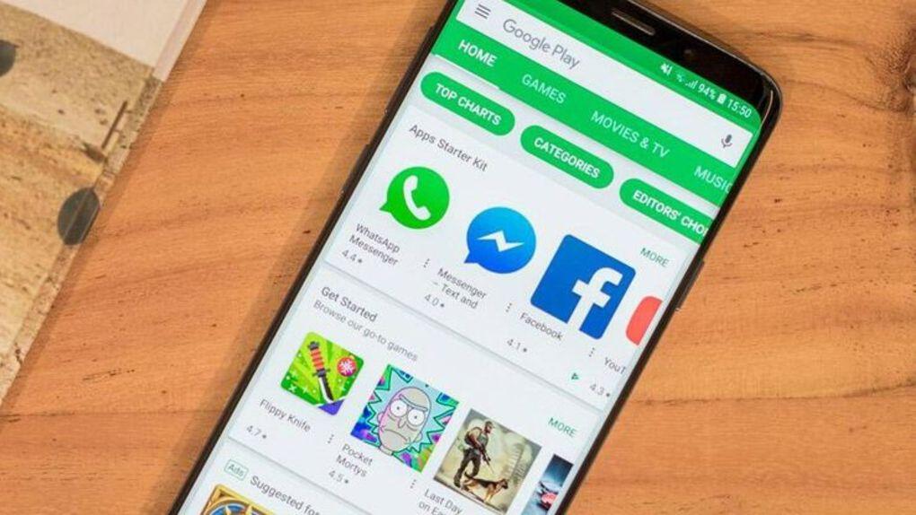 Google Play-butiken får nytt utseende