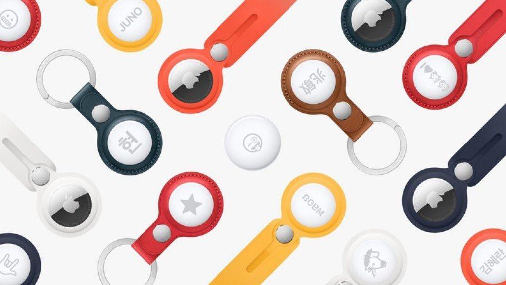 Mängder med Airtag-tillbehör från Apple och andra tillverkare