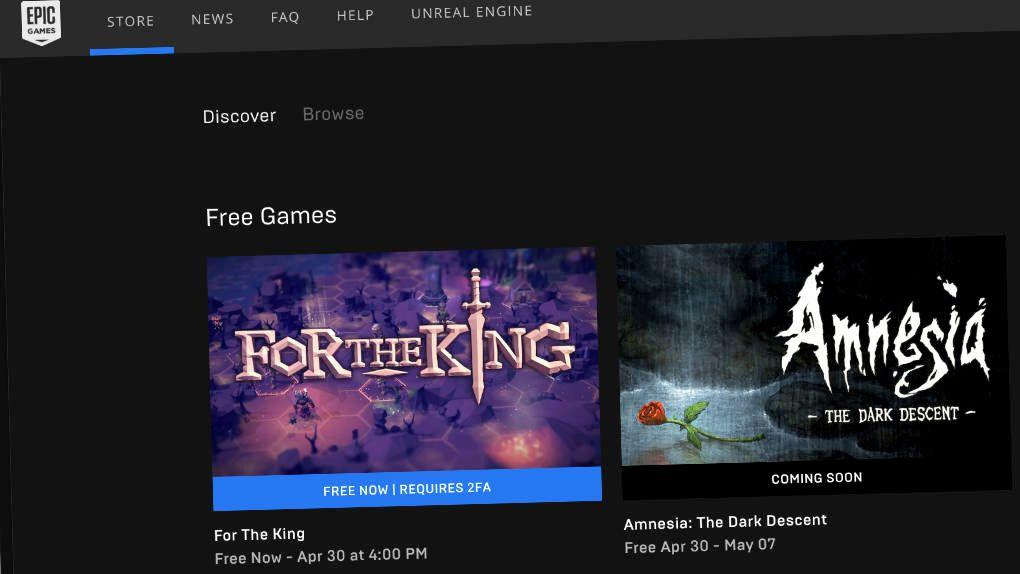 Så mycket får Epic betala för gratisspelen de delar ut