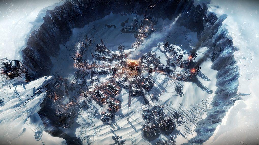 Deppiga stadsplaneraren Frostpunk gratis på Epic Games Store