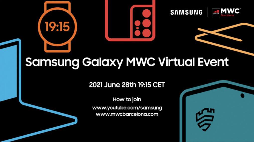 Samsung flaggar för smartklocke-event under MWC