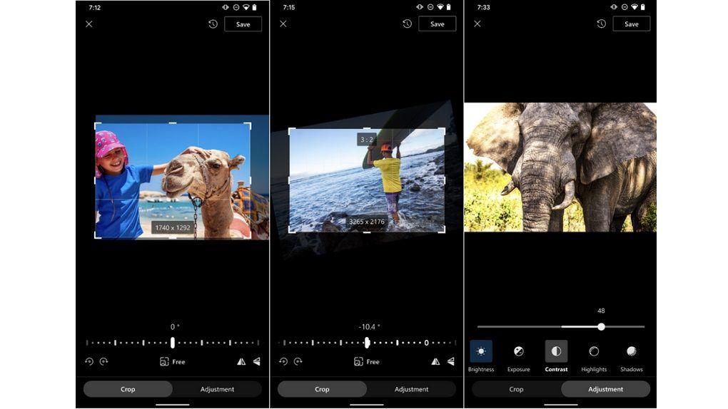 Microsofts Onedrive får nya fotoredigerings-funktioner