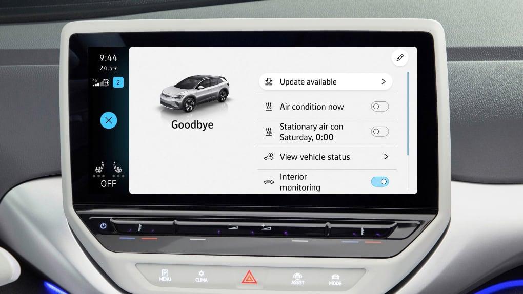 Nu kan Volkswagens ID-bilar uppdateras över nätet