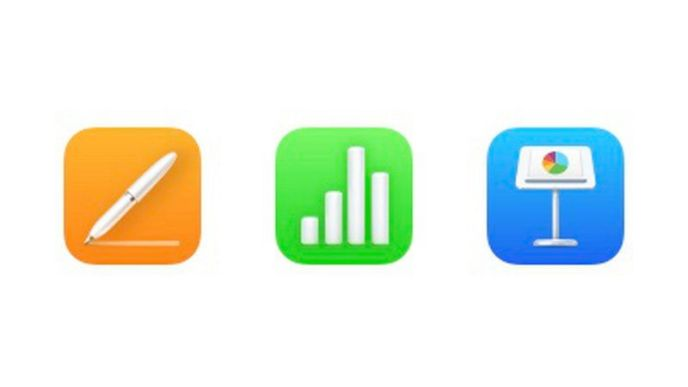 Apple satsar på nya ikoner för Iwork-apparna