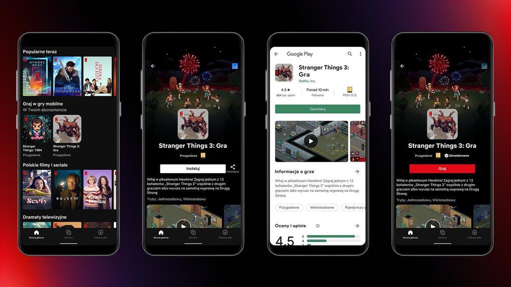 Netflix testar gaming på polska kunder