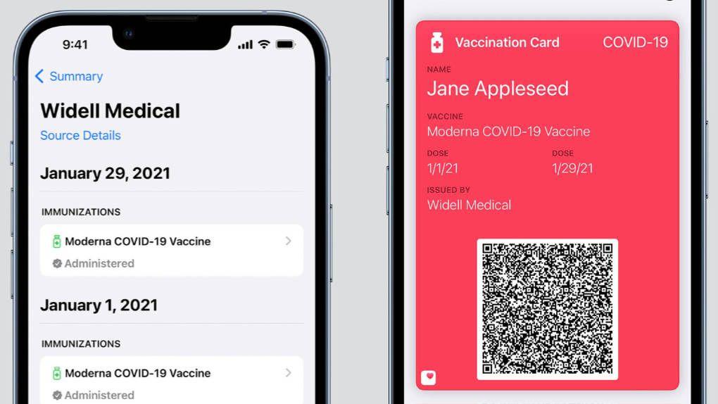 Apple börjar testa vaccinpass i Wallet