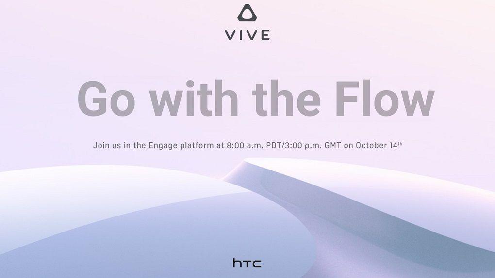 Nytt vr-headset på G? HTC bjuder in till lanseringsevent