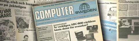 Computer Sweden kom ut första gången 1983.