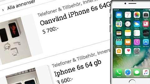 Köp eller sälj Iphone begagnat