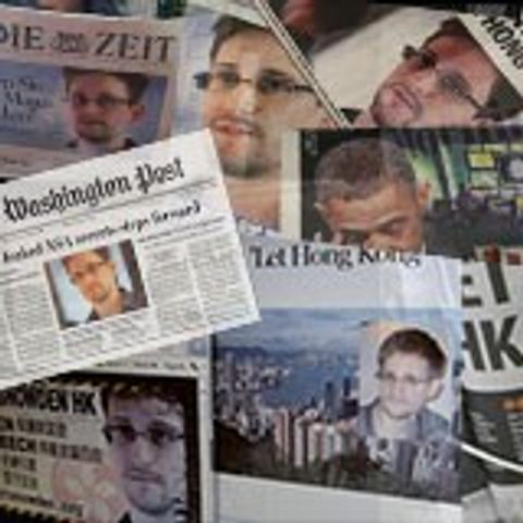 snowden headlines