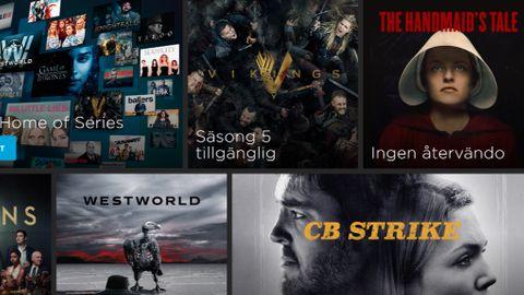 Streaming-tjänster film tv-serier