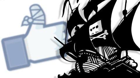 Pirate Bays Facebooksida nedstängd