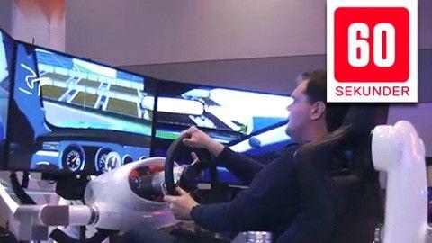Ford Mustang-simulator