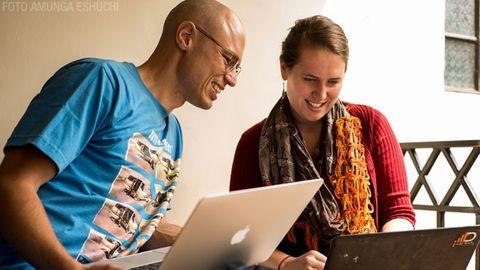 Linus Lennstrand och Arielle Sandor, Duma Works