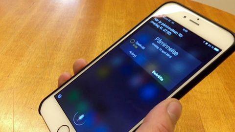 Siri på Iphone 6