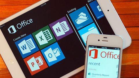 Microsoft-mobil och padda