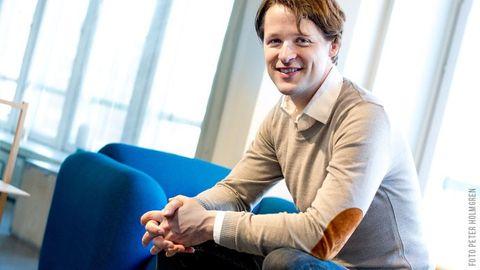 Hannes Sjöholm – biohackare och disruptionschef med chip i handen