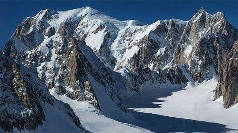 mont blanc gigantiskt foto