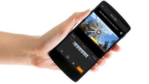 Enkelt klippa filmen – direkt i mobilen