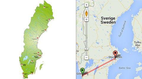 Enkelt mäta avstånd i Google Maps