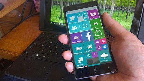 Windows 10 - telefon