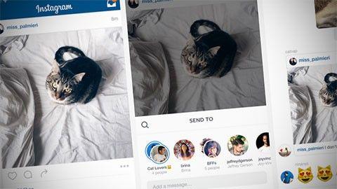 Så ska Instagram bli mer som Snapchat