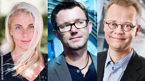 Ann Hellenius, Benjamin Ernryd, Jonas Hansson