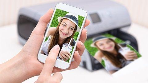 Skriv ut från mobilen – på din vanliga skrivare