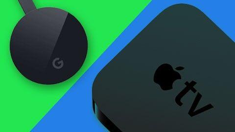 Chromecast, Apple TV, Nvidia Shield