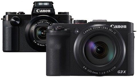 Canon G5 X och G3 X