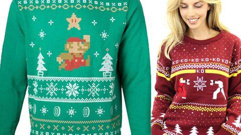 Nördiga jultröjor för geeks