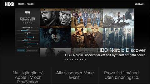 hbo nordic gratis 1 månad