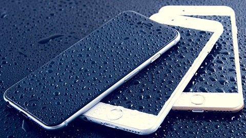 Blöt Iphone