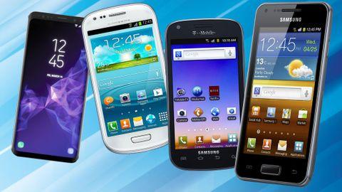 Historien om alla Samsung Galaxy